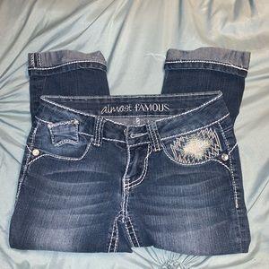 Almost Famous jean capris